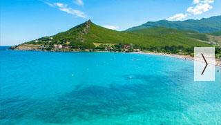 Corse : standing & bord de mer