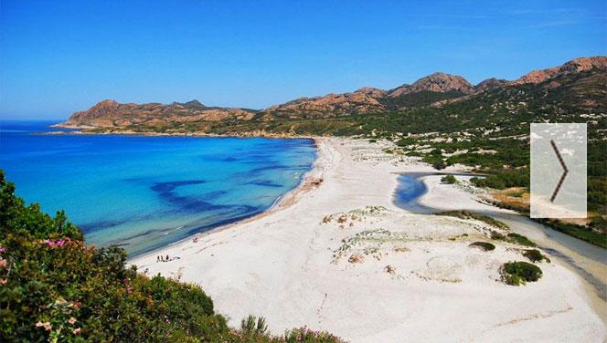 Corse : camping près des plages