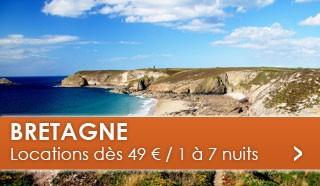 Bretagne dès 49 euros / 1 à 7 nuits