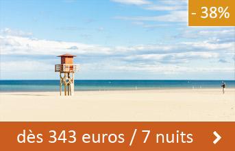 Aude dès 343 euros / 7 nuits (-38%)