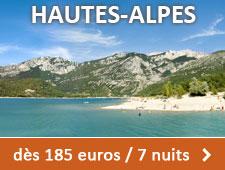 Hautes Alpes dès 185 euros / 7 nuits