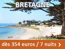 Bretagne dès 354 euros / 7 nuits